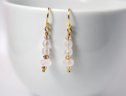 rose quartz earrings (1)